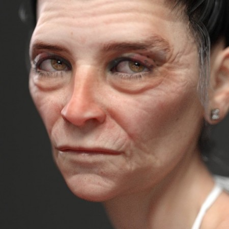 Olivya 'The Granny' May HD for Genesis 8 Female