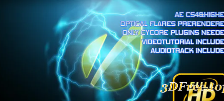 Videohive Energy Orb Logo Reveal 2485836