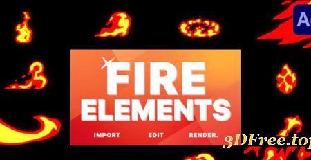 Videohive Fire Pack | After Effects 31105607