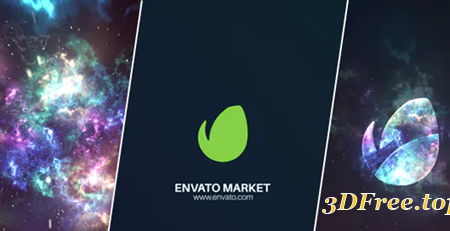Videohive Space Logo Reveal 21387549