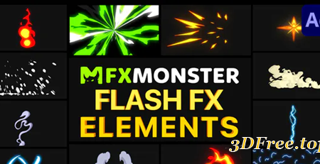 Videohive Flash FX Pack 06 | After Effects 31128489
