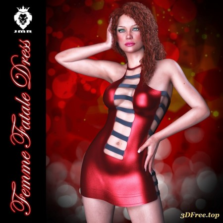 JMR Femme Fatale Dress for G3F/G8F