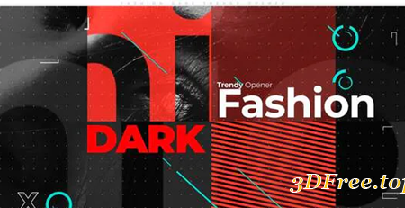 Videohive Fashion Dark Trendy Opener 31121785