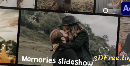 Videohive Memories Slideshow | After Effects 31151517