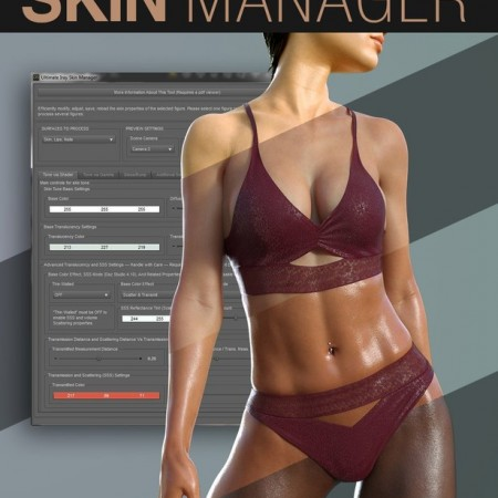 Ultimate Iray Skin Manager (Updated 14 March, 2021)(incl. G8.1)