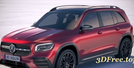 Mercedes-Benz GLB AMG 2020 3D model