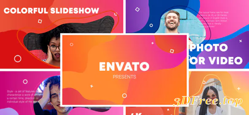 Videohive Colorful Slideshow || After Effects 31457812