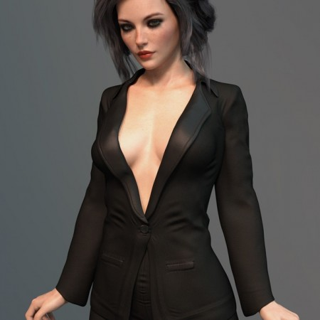X-Fashion After Hours Suit for Genesis 8 Female(s)