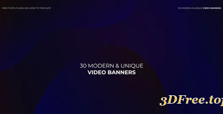 Videohive Banners 23315274