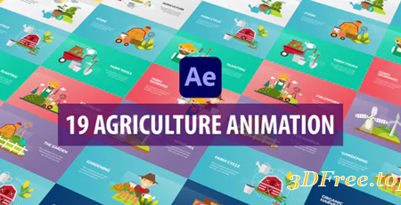 Videohive Agriculture Animation | After Effects 31482679