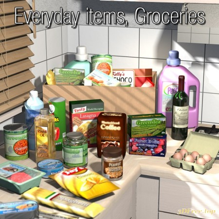 Everyday items, Groceries