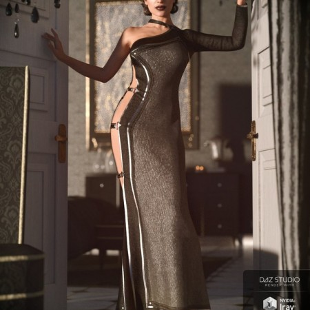 dForce Twilight Outfit for Genesis 8 Female(s)
