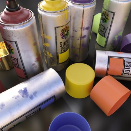 Artist Spray Paint Set