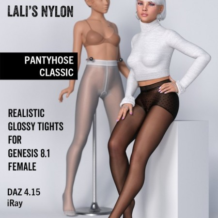 Lali's Pantyhose Classic for Genesis 8.1 Female