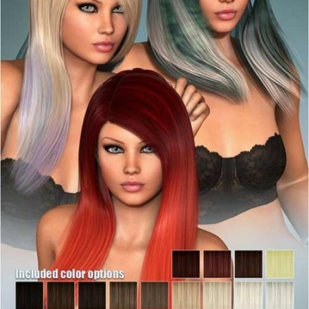 DAZ3D - MARIA HAIR AND OOT HAIRBLENDING 000165