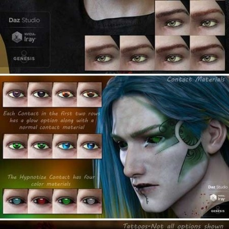 DAZ3D - Kyle for Genesis 8 Male 000163