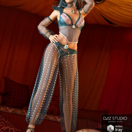 Wish Granter Outfit for Genesis 3 Female(s)