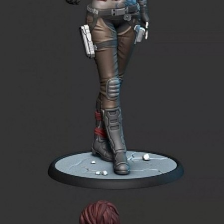 Lilith - Borderlands - 3D Print Model