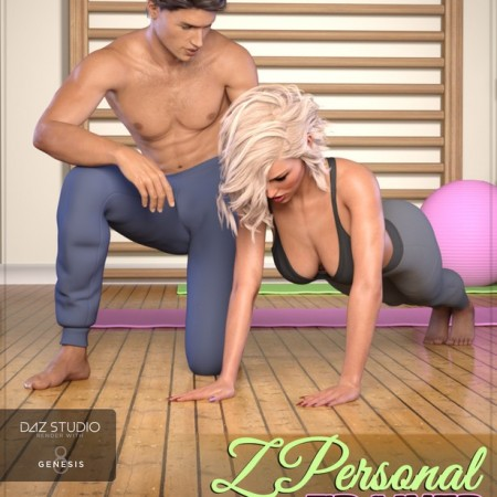 Z Personal Trainer - Poses for Genesis 3 and 8