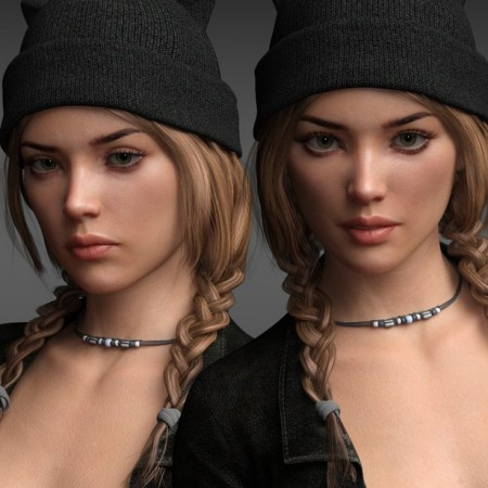 P3D Soft Expressions for Genesis 8 Female(s)