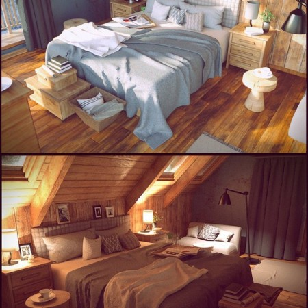 Winter Vacation Bedroom