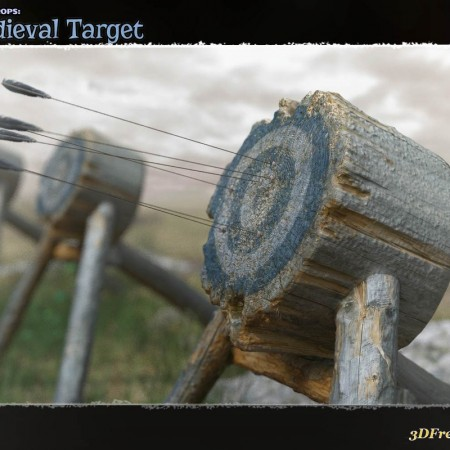 Photo Props: Medieval Target