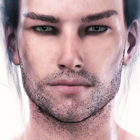 CB Habben HD For Genesis 8 Male