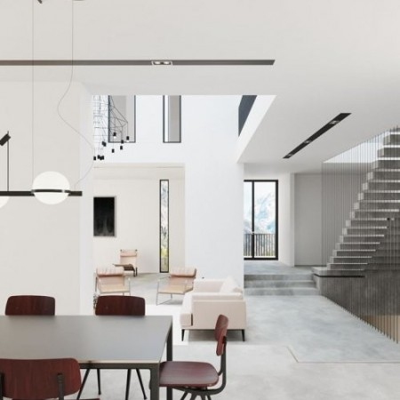 Residential House Interior Scene By Tks Trung Bao